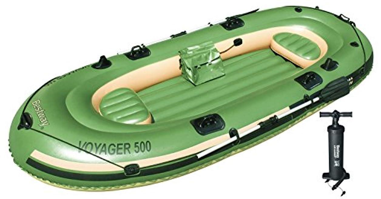 哲学的ラオス人用心ゴムボート 3人 釣り竿ホルダー?船外機可 65001/62089