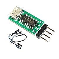 P Prettyia TX TXDデータ送信機 CH340 USB →RS232 TTL 変換モジュール 5V  ダウンロード