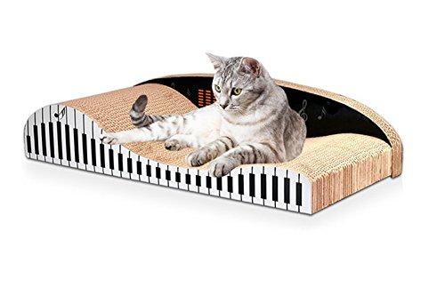 IDEAPRO ネコ用品 バリバリベッド つめとぎ ダンボール 猫スクラッチャー M 猫ソファー (大型サイズ)