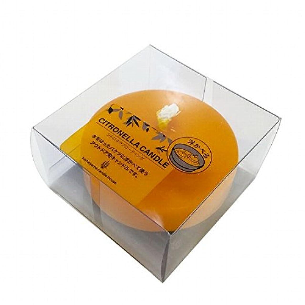 速度貨物ゆりかごカメヤマキャンドル(kameyama candle) シトロネラフローティング