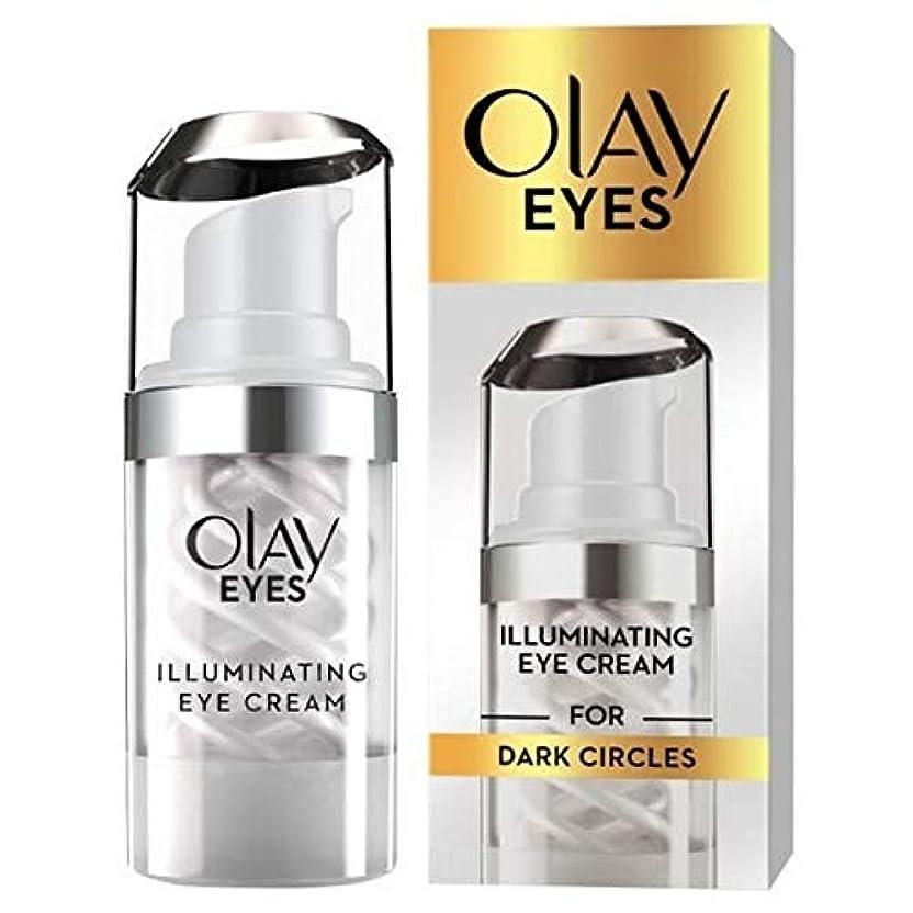 満了農村類似性[Olay] アイクリーム15ミリリットルを照らすオーレイ目 - Olay Eyes Illuminating Eye Cream 15Ml [並行輸入品]