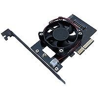 AOTECH M.2 NVMe SSDインターフェースカード PCI-Express x4 空冷クーラータイプ AOK-M2PCIEX4WF