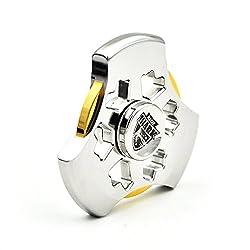 MixMart ハンドスピナー 鏡面研磨 4~6分間 Hand Spinner MagicShark 指スピナー Fidget Spinner おもちゃ (Time Machine)
