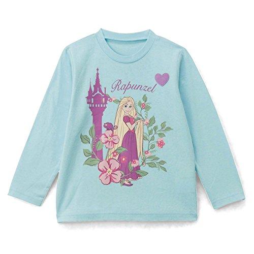 [ベルメゾン] ディズニー 名札付け ワッペン付き長袖Tシャツ ラプンツェル サイズ:90
