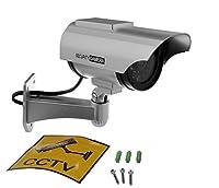 YYGIFT赤外線型 ハイビジョン 安全ダミー防犯カメラ 監視カメラ ダミーカメラ(ソーラーLEDライト)ソーラーパネル 搭載 セキュリティ 偽装 監視カメラ 高い防犯効果 不審者を常に威嚇 設置簡単 屋内外両用