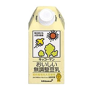 キッコーマン おいしい無調整豆乳 500ml×12本の関連商品3
