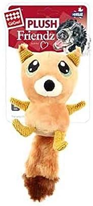 Gigwi Plush Friends Big Eyes Squirrel Dog Toy