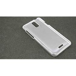 ISW13HT HTC J無地 ケース PC(プラスチック素材) クリアー au