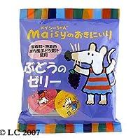 創健社 メイシーちゃんのおきにいり ぶどうのゼリー (23g×8個)×5個 JAN:4901735019618