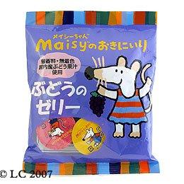 創健社 メイシーちゃんのおきにいり ぶどうのゼリー 23g×8個 ×4セット