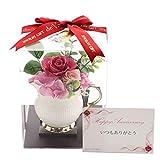 [ファンシー]11月誕生日プレゼント 女性 花 人気 彼女 ブリザーブドフラワー 結婚記念日 記念日 hp-04