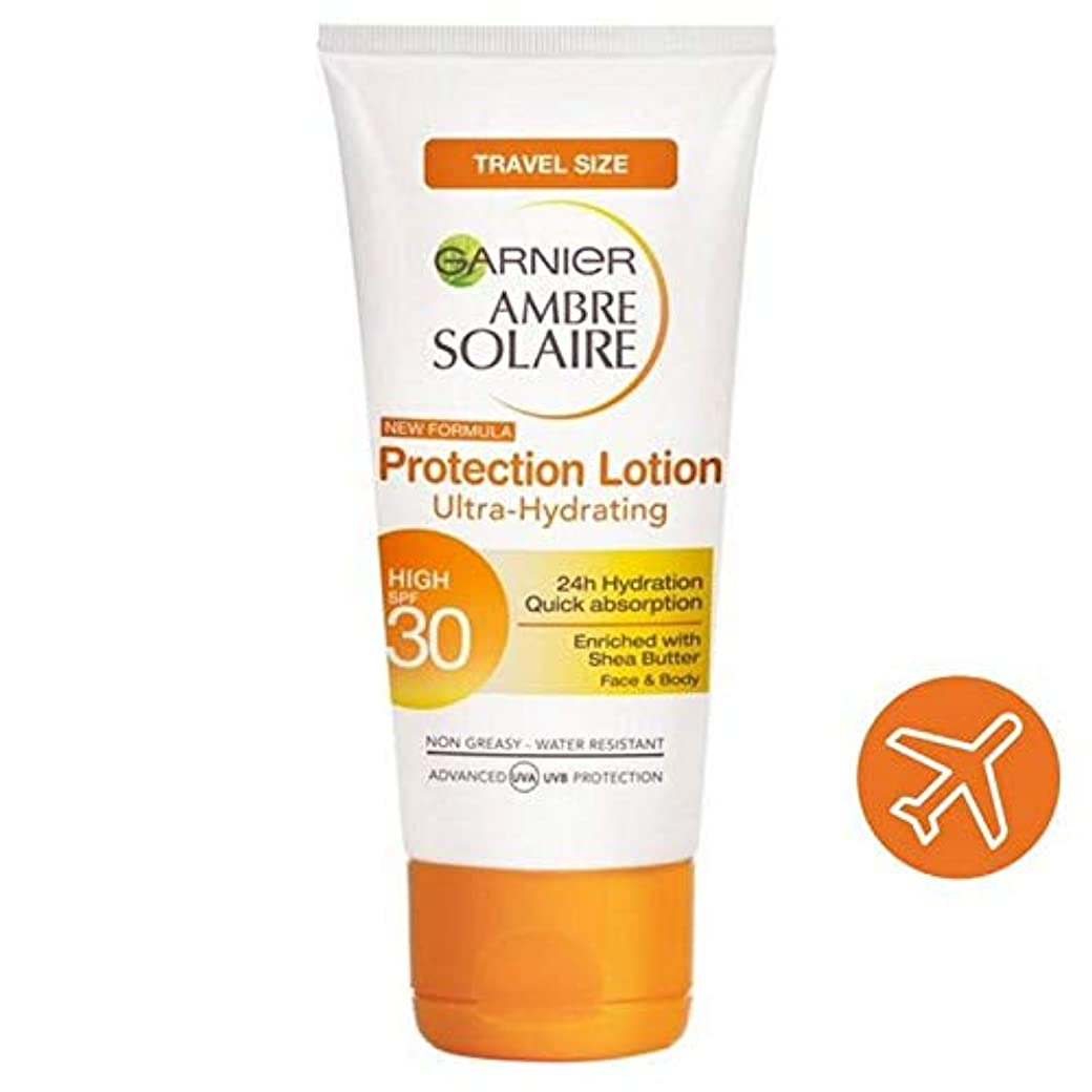 批判する落ち着いてペチュランス[Garnier ] アンブレSolaire超水和日クリームSpf30旅行50ミリリットル - Ambre Solaire Ultra-hydrating Sun Cream SPF30 Travel 50ml [並行輸入品]