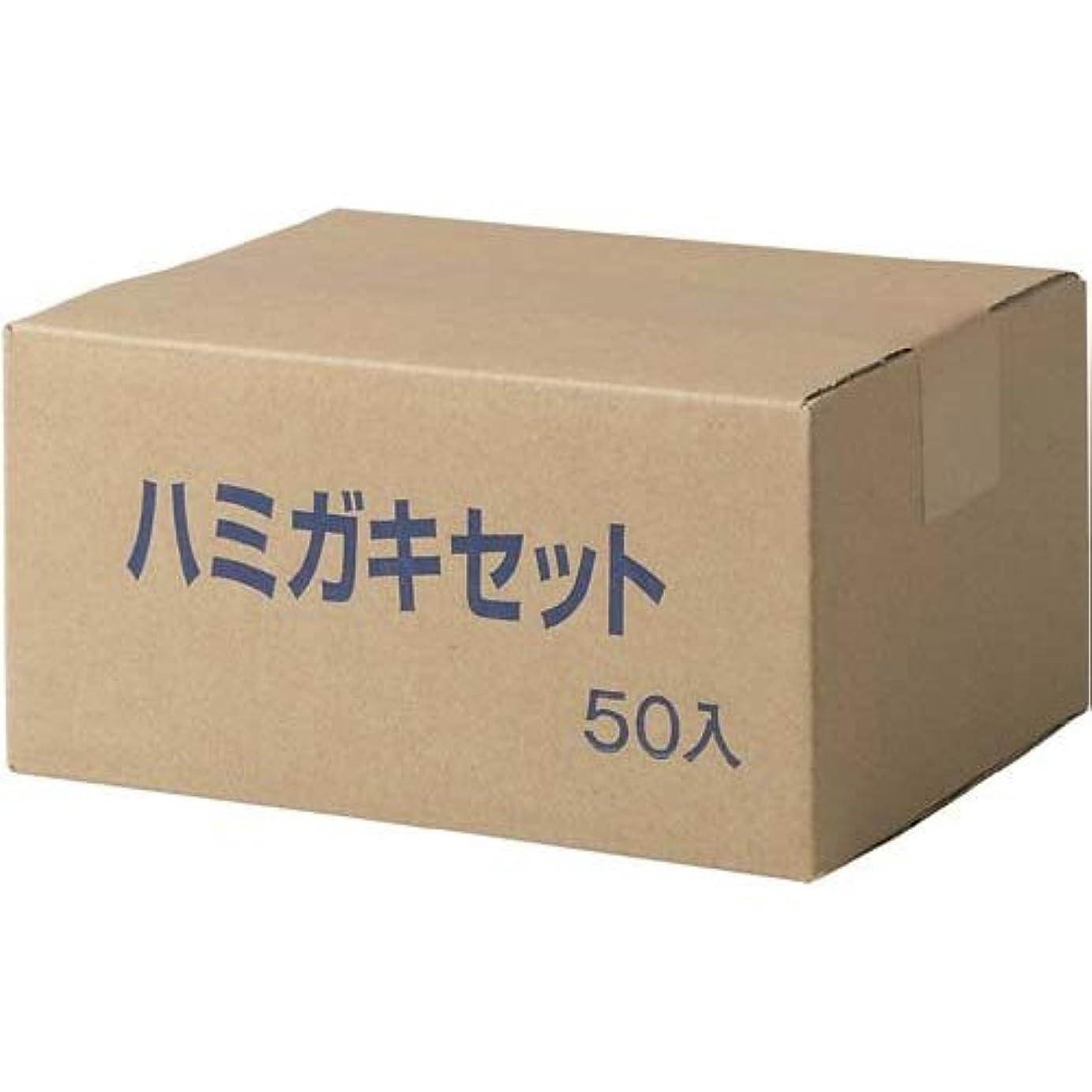 ページェントセンタースプリットアイテック 業務用ハブラシセット 50パック入