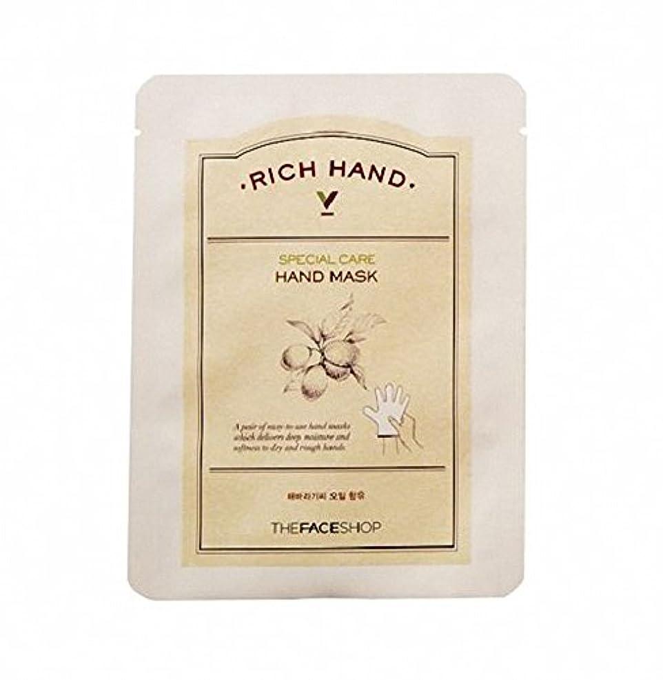 共同選択出口異なる[ザ·フェイスショップ The Face Shop]  リッチ ハンド V スペシャルケア ハンドマスク (3枚) Rich Hand V Special Care Hand Mask (3 Sheet) 韓国コスメ[海外直送品]
