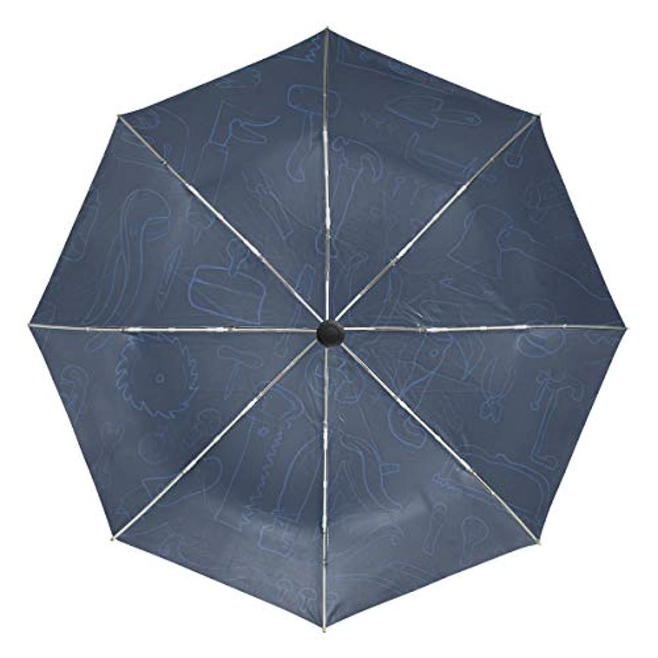 登る考え十二傘 自動傘 丈夫 台風対策 雨傘 日傘 描画パターン ドライバー工具 三つ折り傘 日よけ傘 日焼け止め 折りたたみ傘 UVカット 紫外線カット 自動開閉 晴雨兼用 梅雨対策