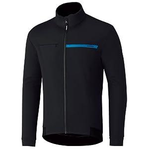 シマノ ウインドブレーク ジャケット 耐風・撥水・保温 ECWJAPWQS22ML3 ブラック M