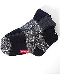 [イナセ] メンズショートソックス Healthknit ヘルスニット メンズ靴下 3足セット クォーターソックス