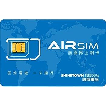 AIRSIM・世界データSIMカード (残高10米ドル)