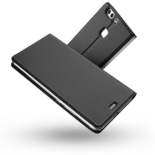 【Radoo】 Huawei P9 ケース 手帳型 カードホ...