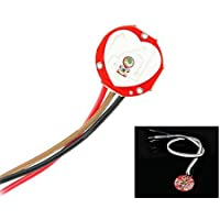 432d5c8b5c Pulsesensor Pulse Heart Rate Sensor Module for Arduino - Red by Asiawill