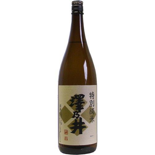 澤乃井 特別純米 瓶 1.8L