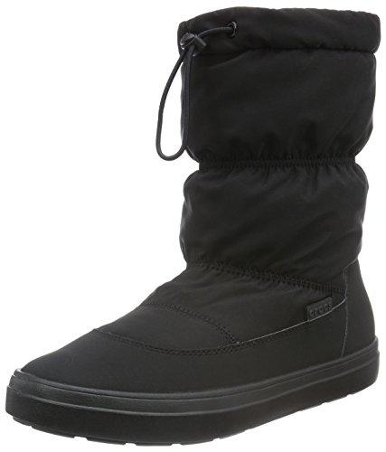[クロックス] CROCS クロックス Lodgepoint Pull-On Boot W ロッジポイント プルオン ブーツ ウィメン ブーツ 203422 001 (Black/W10)