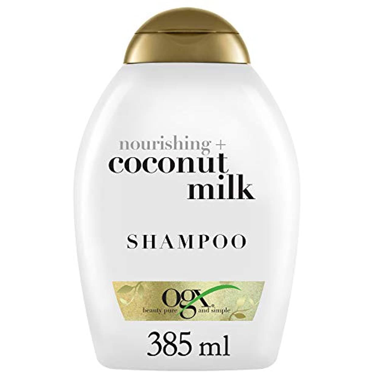 懸念ティッシュローマ人ヴォーグ オーガニックス ココナッツミルク シャンプー385ml