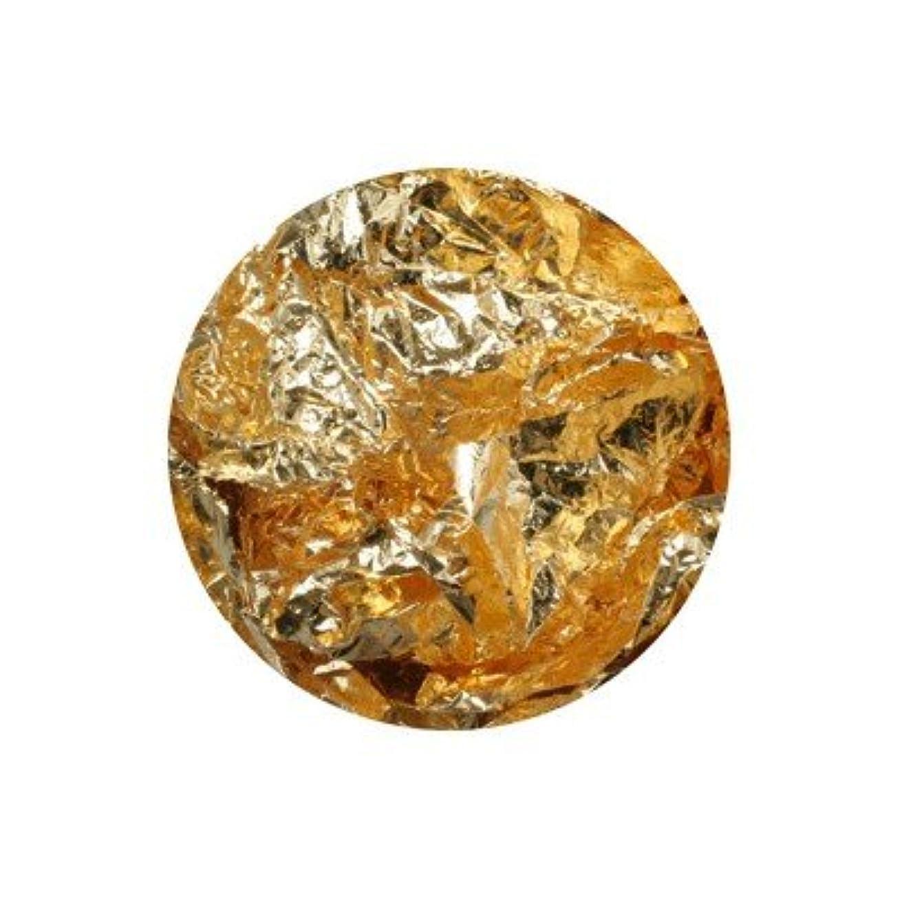 彫刻家長くする促進するボンネイル 金箔