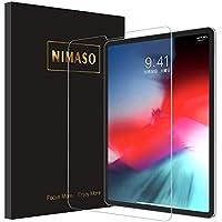 Nimaso 【改善版】 iPad Pro 12.9 インチ(2018秋新型)用 強化ガラス液晶 保護フィルム 【日本製素材旭硝子製】 3D Touch対応/業界最高硬度9H/高透過率