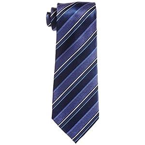 (ユナイテッド カラーズ オブ ベネトン) UNITED COLORS OF BENETTON ネクタイ ストライプ 003269-20000-2927 02 紺ベース、ブルー系・ホワイトストライプ FREE