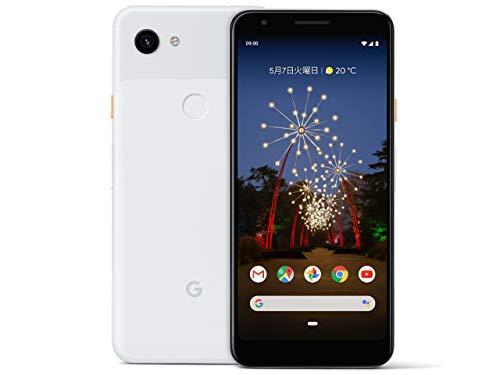国内版SIMフリー Google Pixel3 XL 128GB Clearly White
