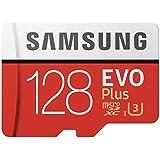 Sandisk MB-MC128GA/APC Samsung 128GB EVO Plus Class 10 Micro SDXC with Adapter (MB-MC128GA/APC) Black, Pack of 20