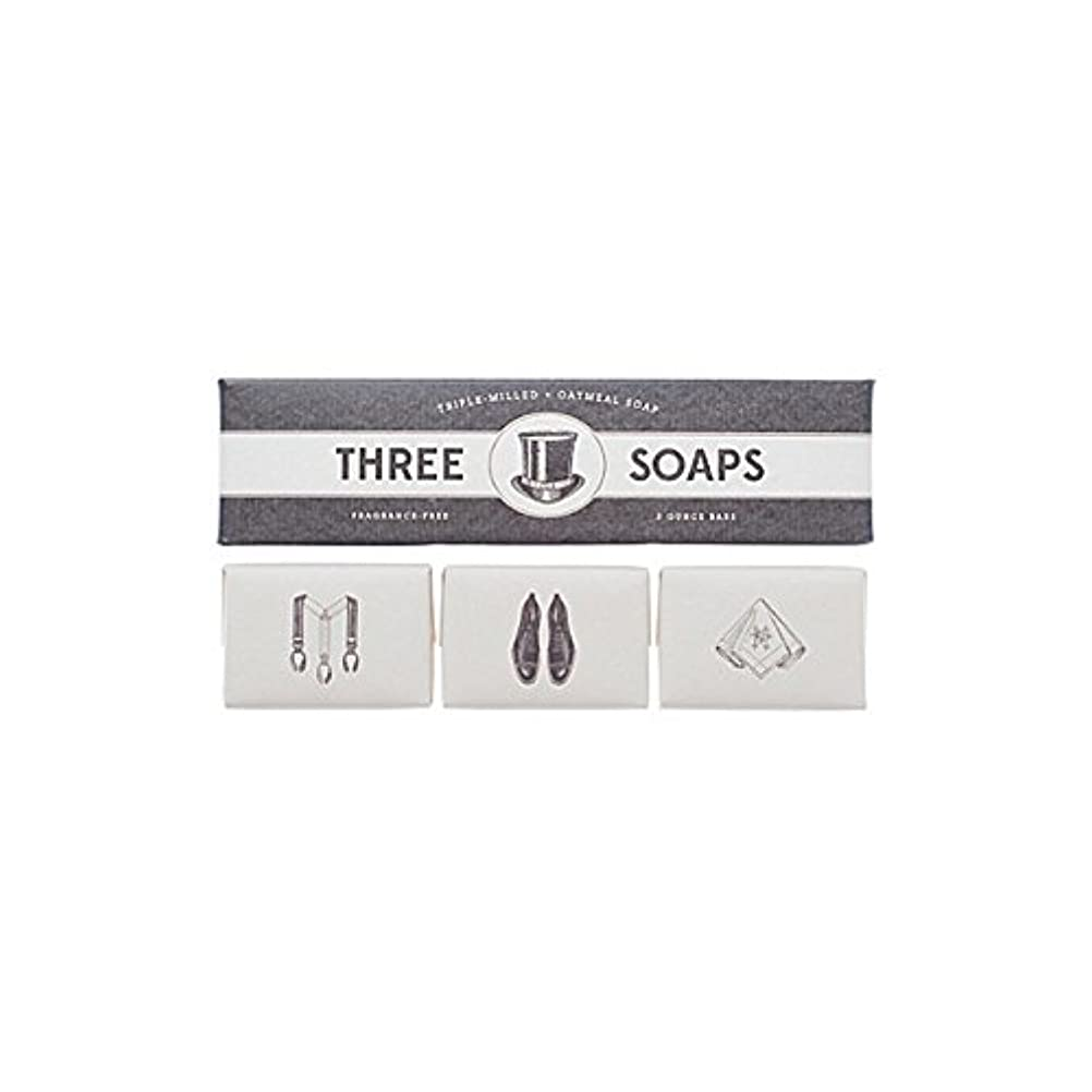 入手します梨焼く石鹸のイゾラトリオ x4 - Izola Trio Of Soaps (Pack of 4) [並行輸入品]