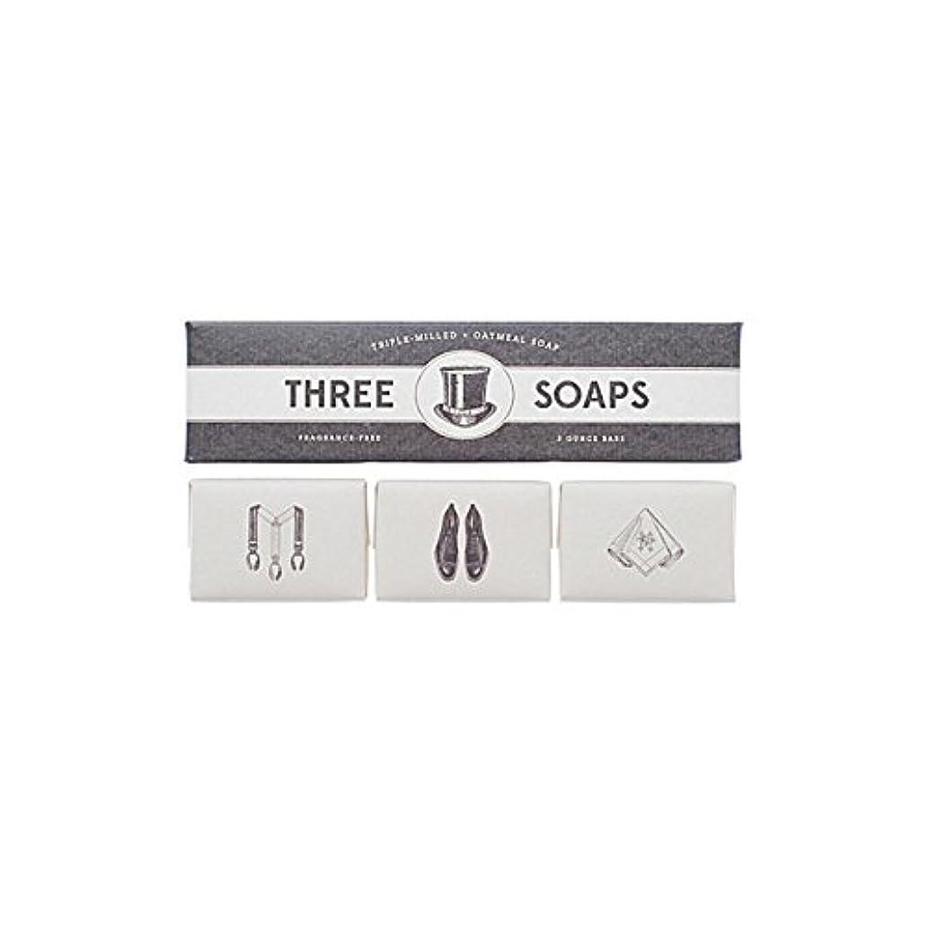 薄暗い小包潮Izola Trio Of Soaps - 石鹸のイゾラトリオ [並行輸入品]