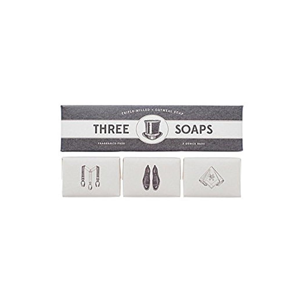 ケント近所の帽子石鹸のイゾラトリオ x4 - Izola Trio Of Soaps (Pack of 4) [並行輸入品]