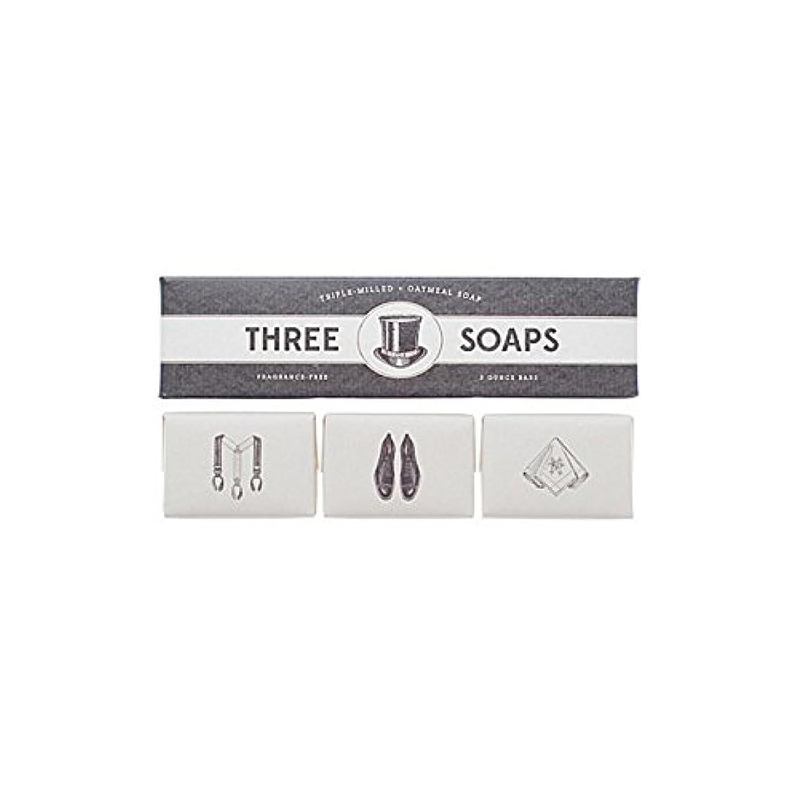 うまくいけば政策誇りIzola Trio Of Soaps - 石鹸のイゾラトリオ [並行輸入品]