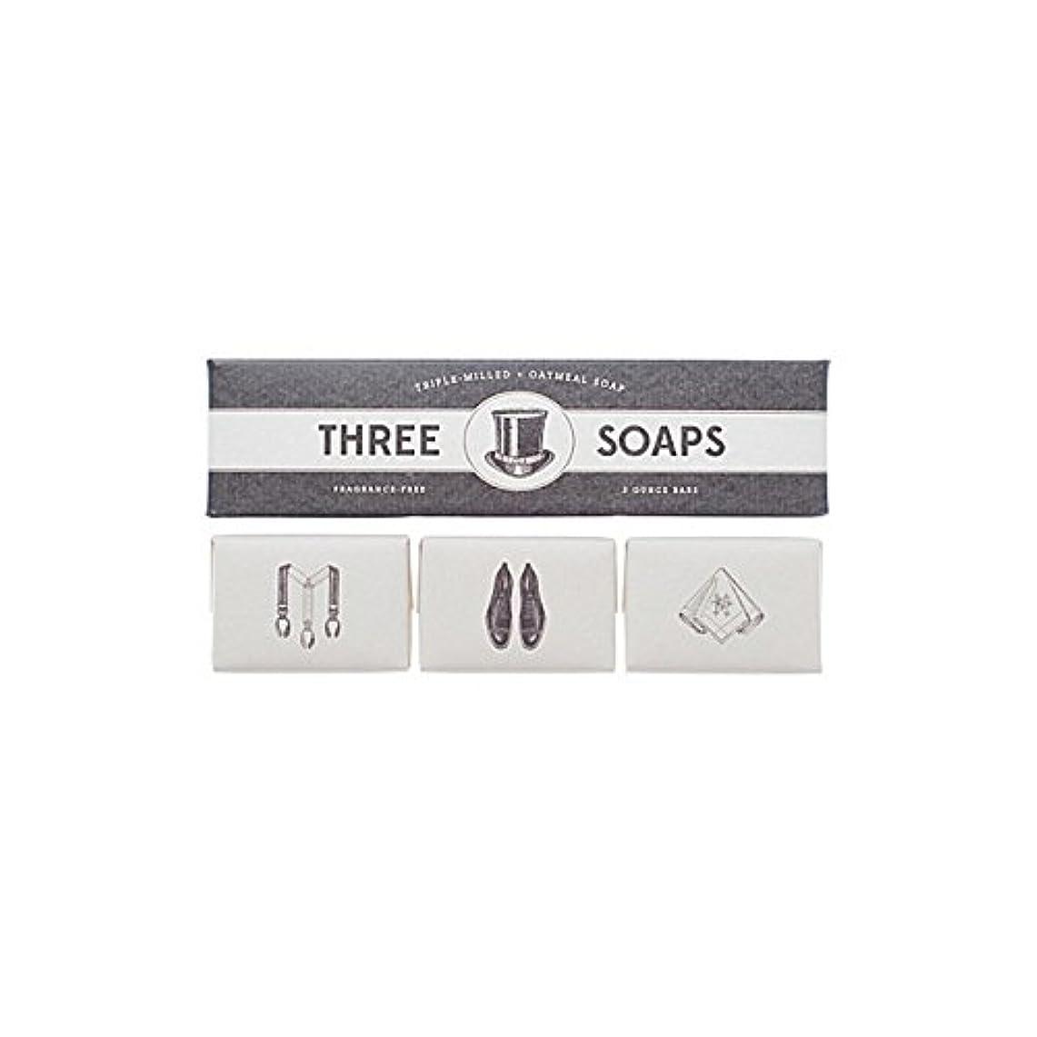 ロケーション降臨半円Izola Trio Of Soaps (Pack of 6) - 石鹸のイゾラトリオ x6 [並行輸入品]
