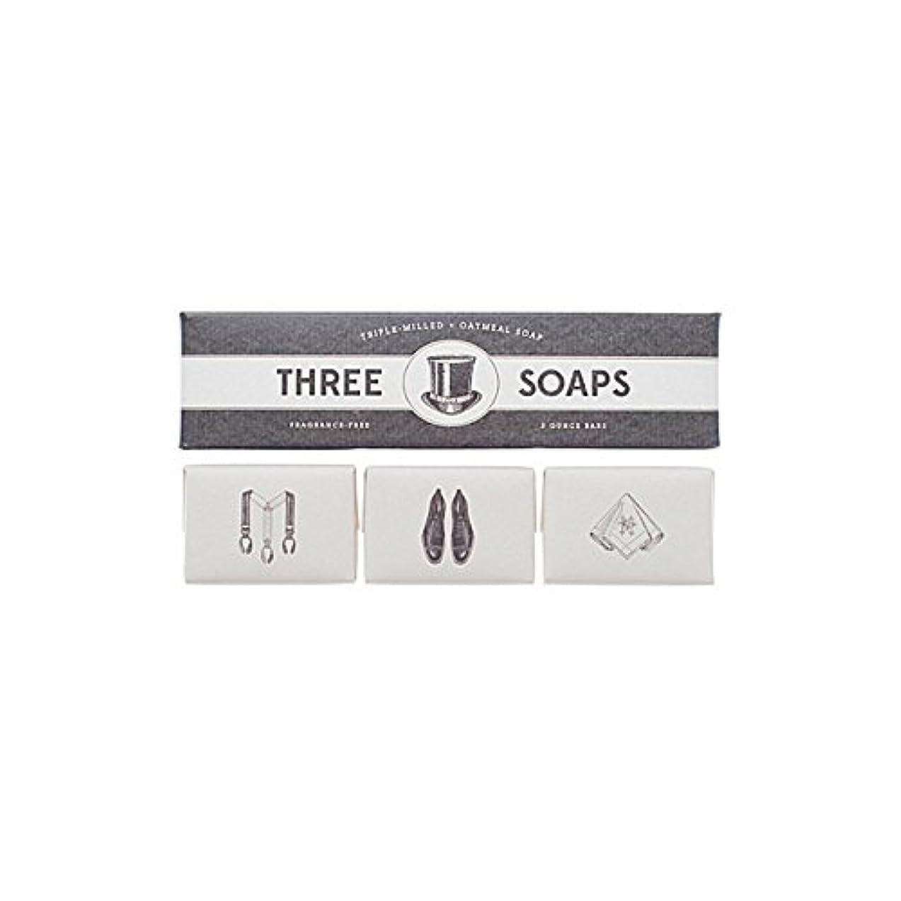 忙しい通信する粘性の石鹸のイゾラトリオ x2 - Izola Trio Of Soaps (Pack of 2) [並行輸入品]