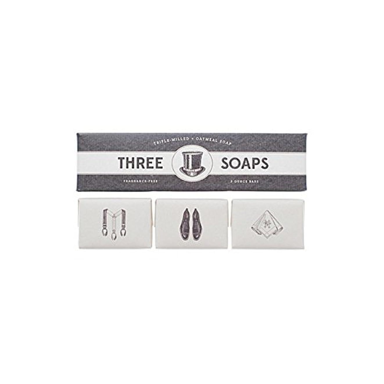 告白揃える告白Izola Trio Of Soaps (Pack of 6) - 石鹸のイゾラトリオ x6 [並行輸入品]