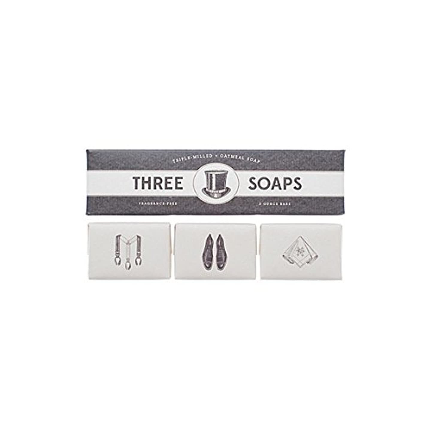 無し努力松の木Izola Trio Of Soaps (Pack of 6) - 石鹸のイゾラトリオ x6 [並行輸入品]