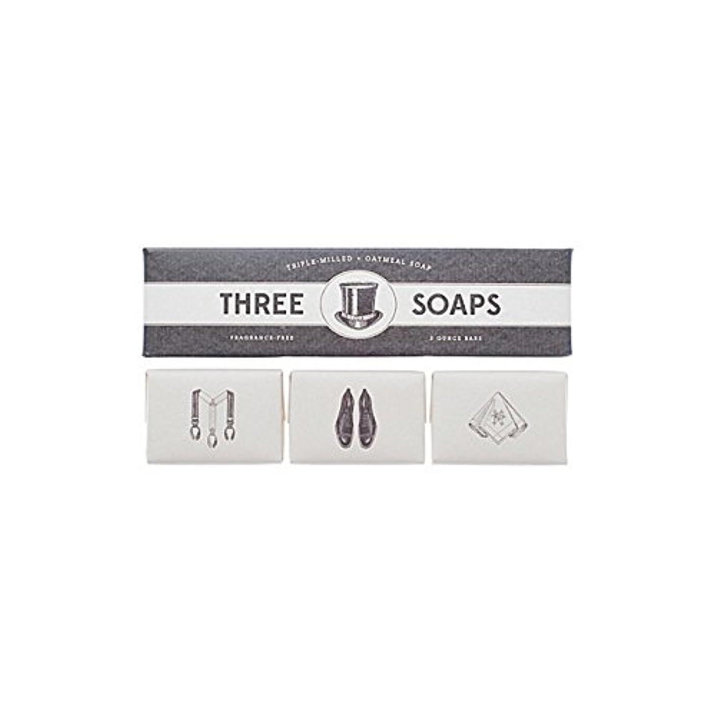 覚醒ギャロップ袋石鹸のイゾラトリオ x4 - Izola Trio Of Soaps (Pack of 4) [並行輸入品]