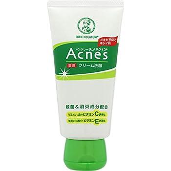 【医薬部外品】メンソレータム アクネス ニキビ予防薬用クリーム洗顔 130g