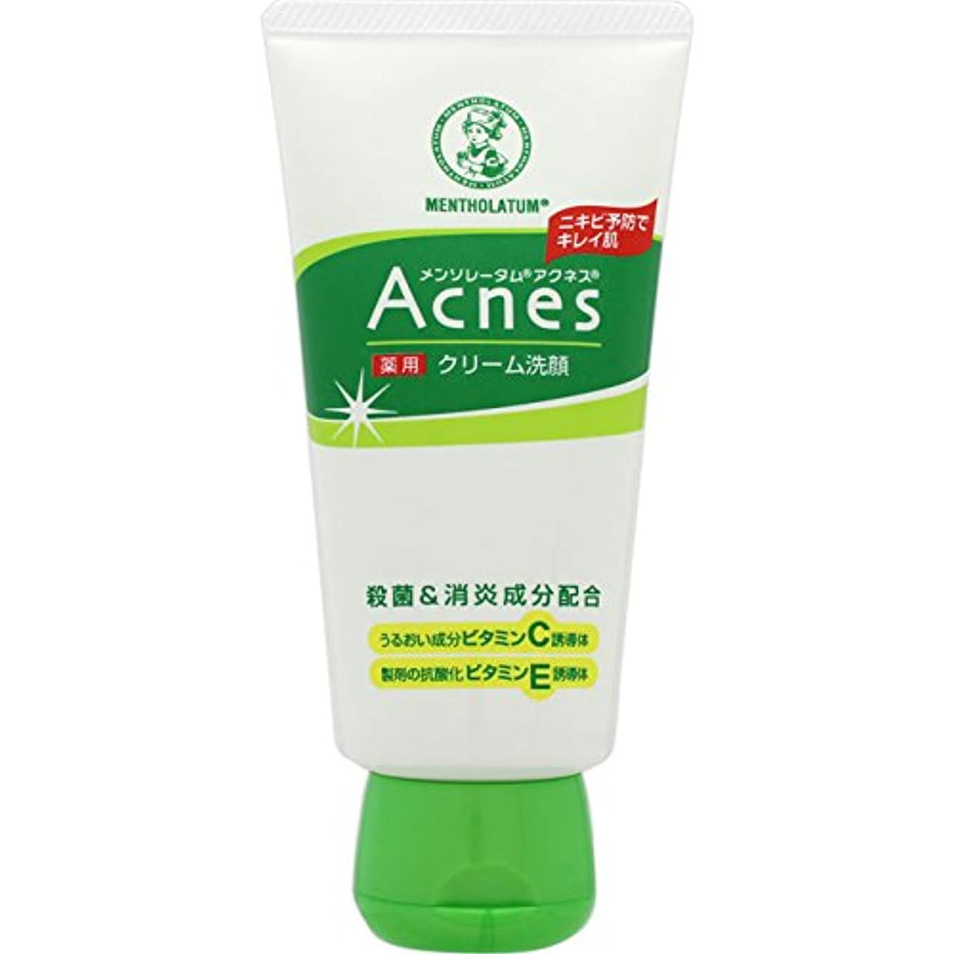 代表少なくとも容器アクネス 薬用クリーム洗顔 130g【医薬部外品】