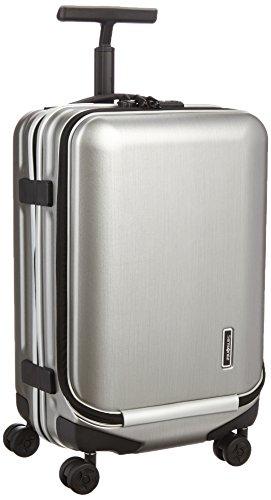 [サムソナイト] Samsonite スーツケース イノバ スピナー55 フロントポケット 31L 3.3kg フロントオープン 機内持込可 U91*18006 35 (シルバー)