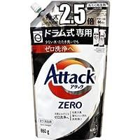 花王 アタックゼロ ドラム式専用 特大 つめかえ用 (860g) 詰め替え用 アタックZERO 洗たく用洗剤 液体洗剤