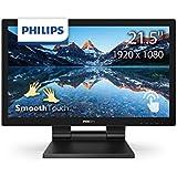 PHILIPS タッチモニター ディスプレイ 222B9T/11 (21.5インチ/FHD/5年保証/10点マルチタッチ/硬度7H/IP54準拠/HDMI/DisplayPort/タッチペン付き)