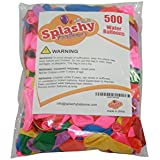 Splashy Water Balloons - Package of 500 Top Quality Water Balloons in Vibrant Colours