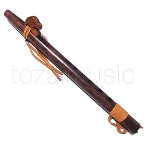 ネイティブ アメリカン フルート Native American Flute プロフェッショナル 上級者用 / ルパカ社 (Low-G管) ブラジリアンローズウッド仕様