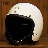 公道使用不可 スーパーマグナム XXLサイズ アイボリー TT&CO. ジェットヘルメット