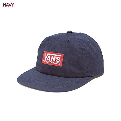1ab3921ff8976 【VANS】バンズ 2018春夏 CALIFORNIA BOX Low Cap メンズ 帽子 キャップ ローキャップ